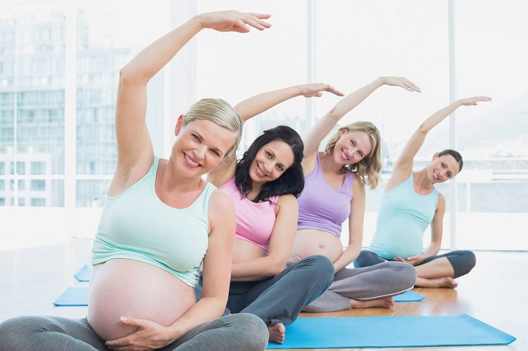 Exercises for pregnant women